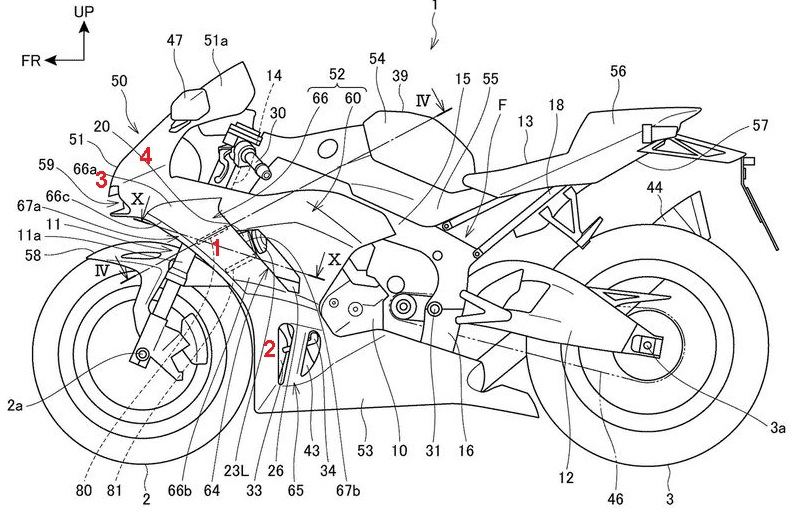 honda active aerodynamics patent-motogokil