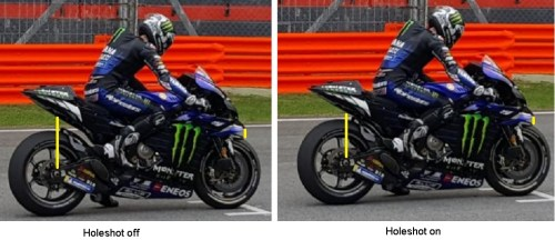holeshot effect yamaha mv12