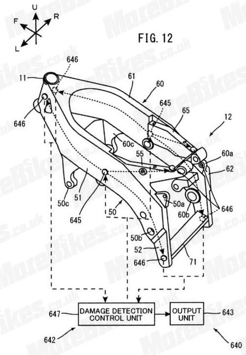 Yamaha-FJR-carbon fiber frame 01