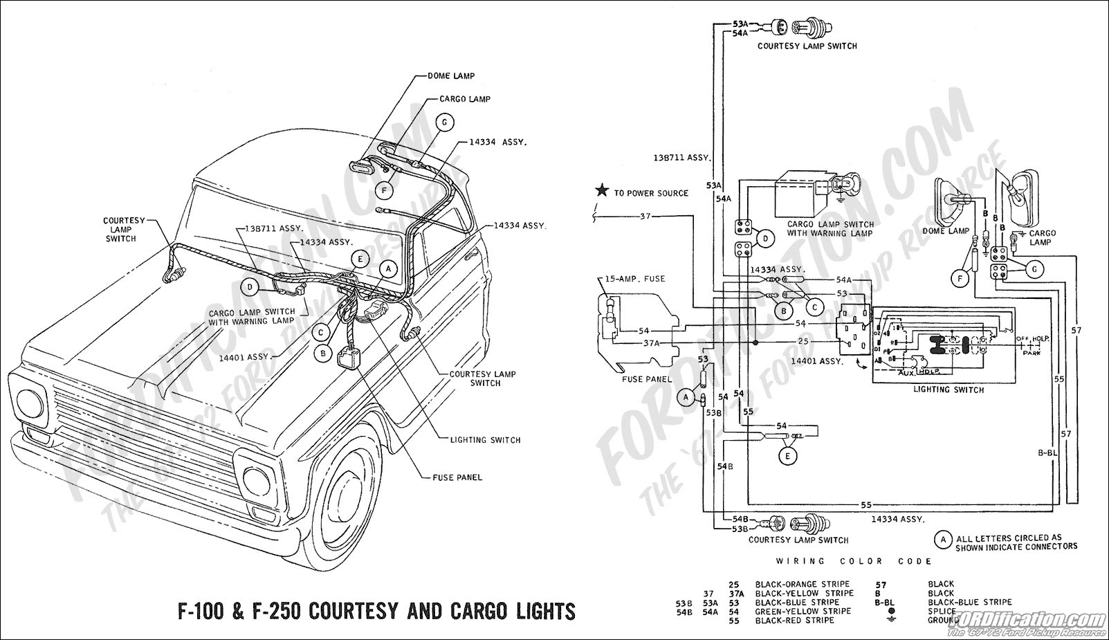 Chevy C20 Wiring Diagram