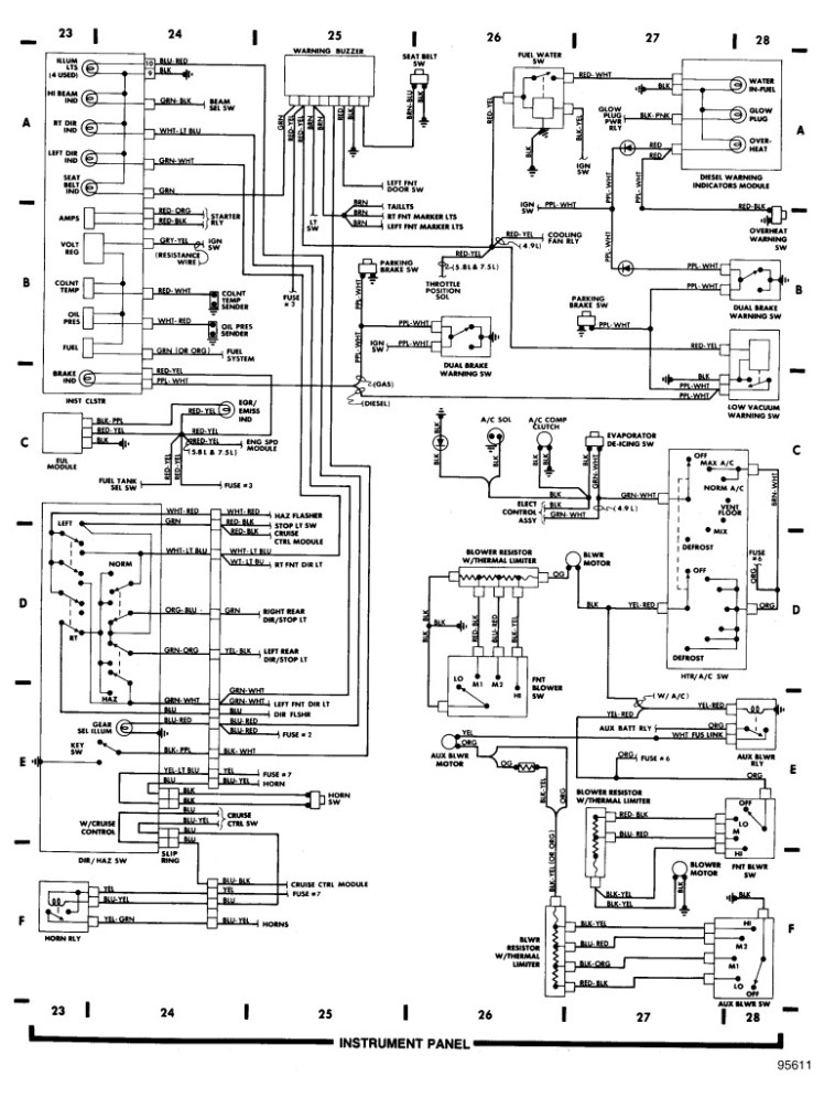 1997 E350 Wiring Diagram on 1998 Jeep Wrangler Brake Lights Wiring Diagram