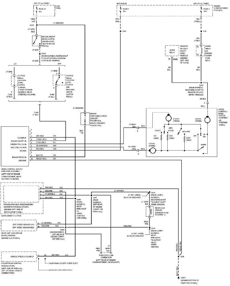 1997 ford f350 wiring diagram WOfaThY?resize=665%2C825 2007 ford five hundred car stereo wiring diagram radiobuzz48 ford f350 radio wiring diagram at crackthecode.co