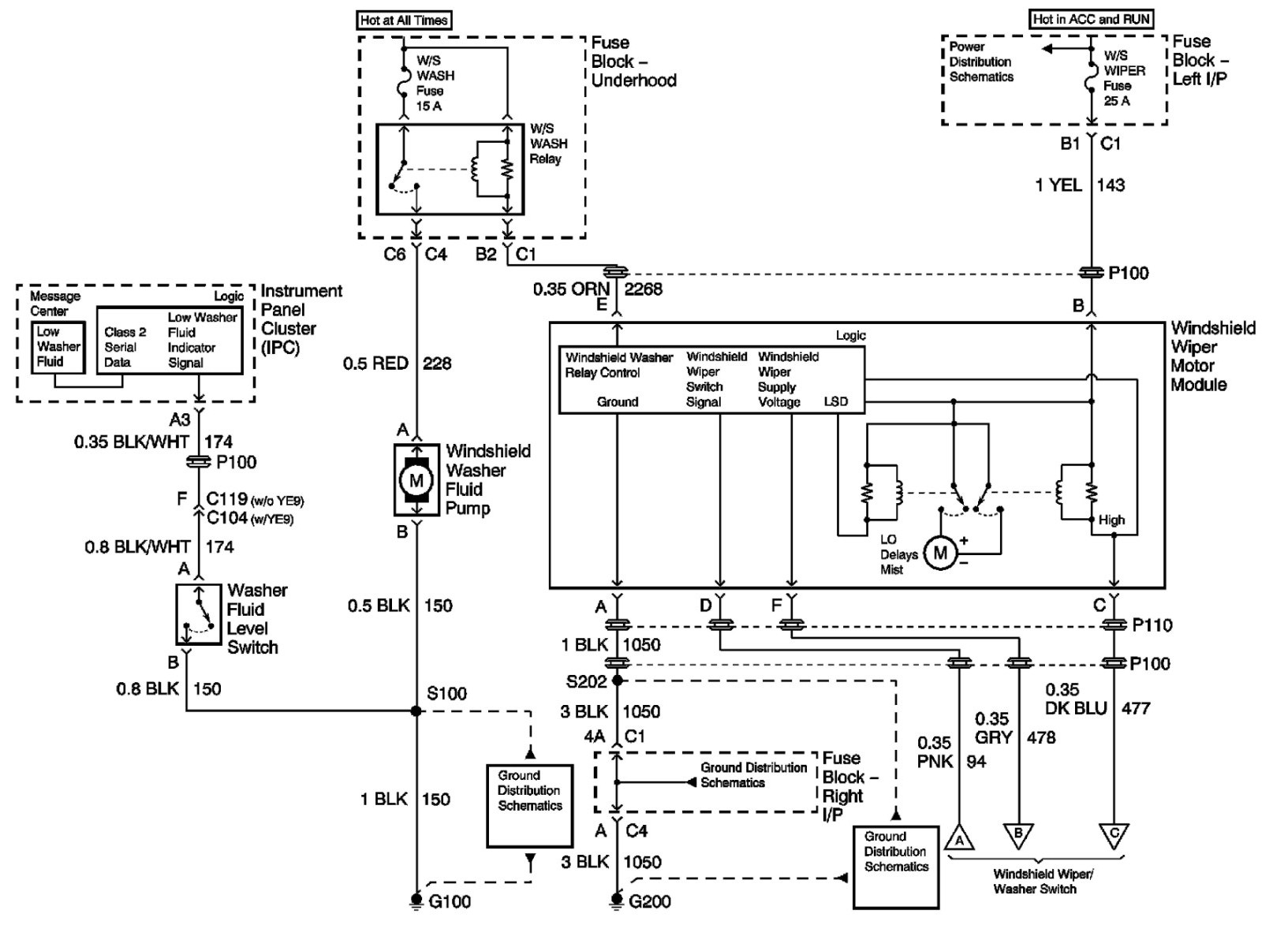 Chevy Silverado Radio Wiring Diagram C1