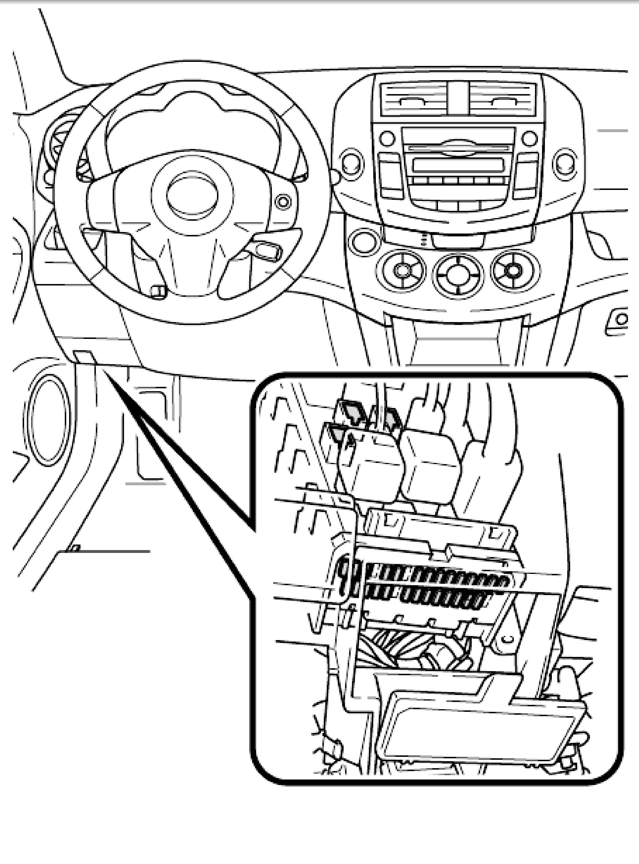 Toyota Camry Fuse Box Diagram
