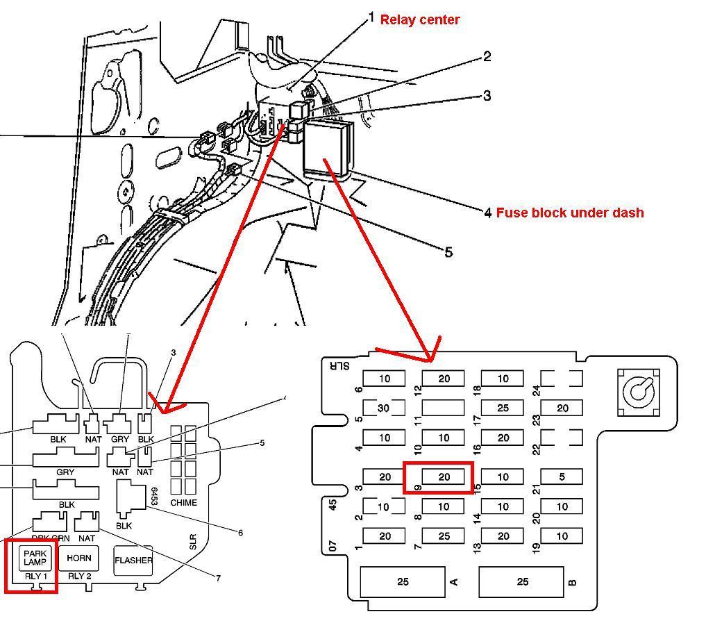 93 chevy astro van fuse box what fuse is for power door lock