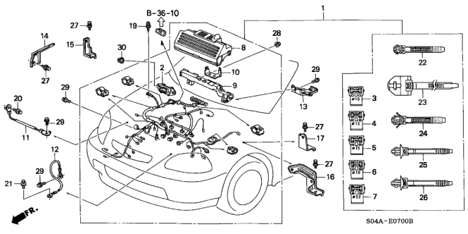 Stunning 98 Civic Wiring Diagram Contemporary Images for image – 2003 Honda Civic Wiring Diagram