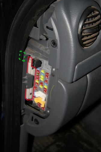 2008 Jeep Patriot Interior Fuse Box Location ...