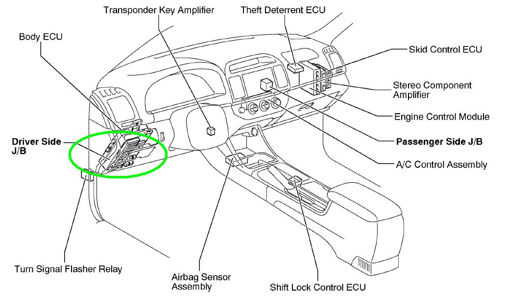 476031 Dyna Models Wiring Diagram Links Index Part 1 A together with 571qz Toyota Corolla Fuel Pump Relay Located further 1997 Toyota Camry L E Engine Fuse Box Diagram furthermore 3790 Parking Brake Stuck Engaged Help Replacing Broken Spring as well 154986 Tundra Pro Wheels Installed. on toyota matrix starter location