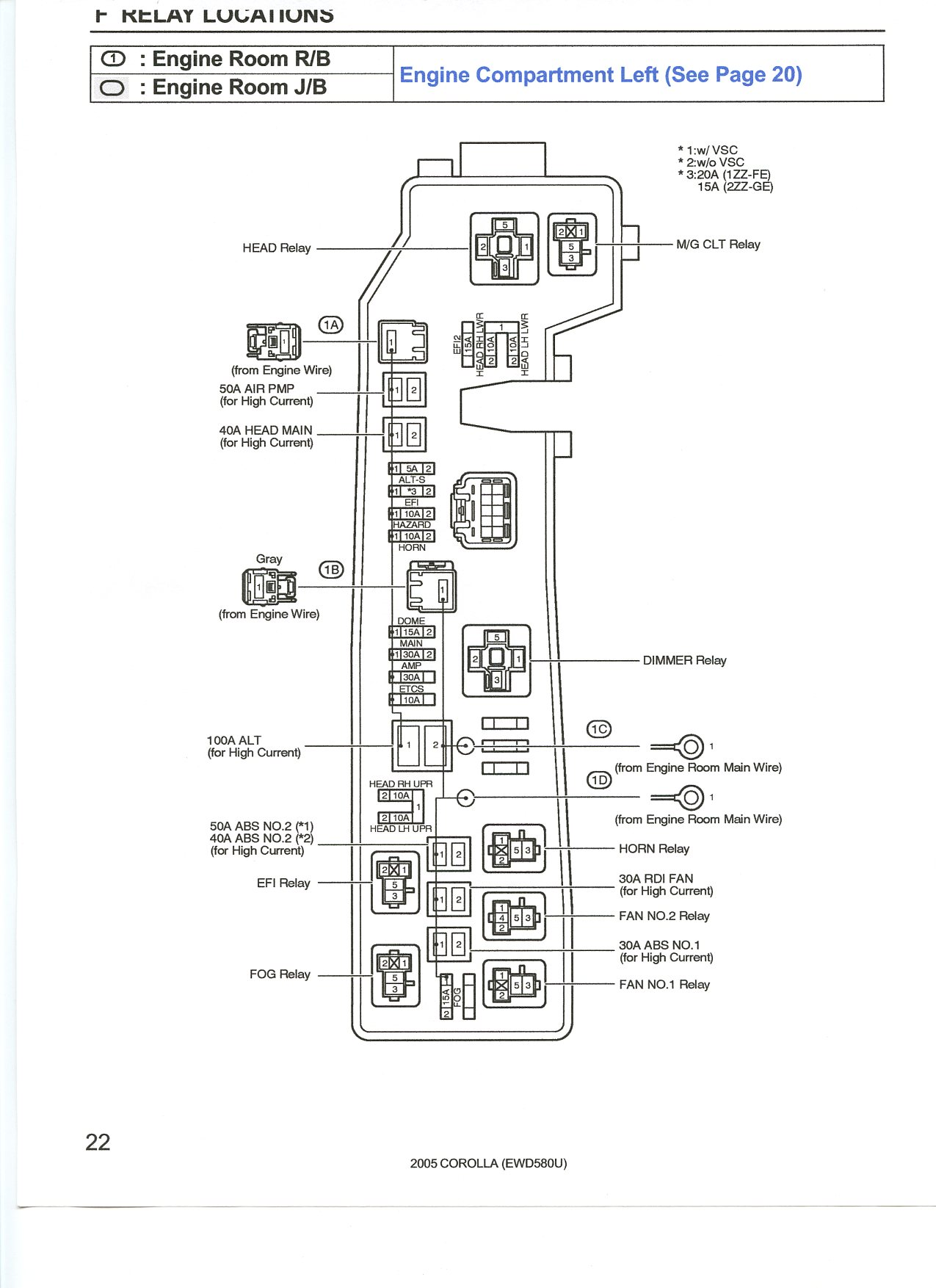 C230 Fuse Schematic Diagram