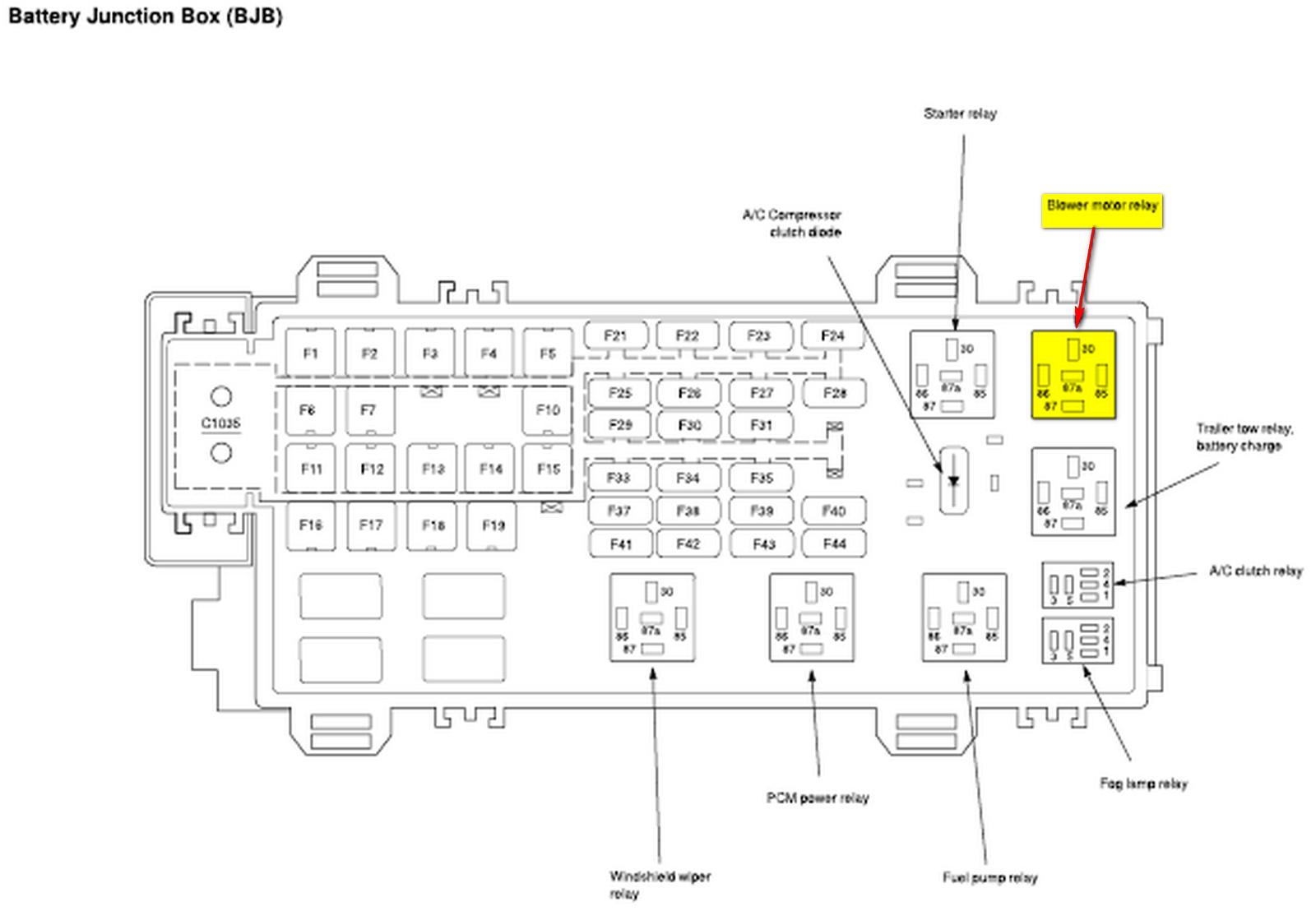 2006 explorer fuse box diagram 2006 diy wiring diagrams 2006 ford f650 fuse box #24, 2006 Ford F650 Hood