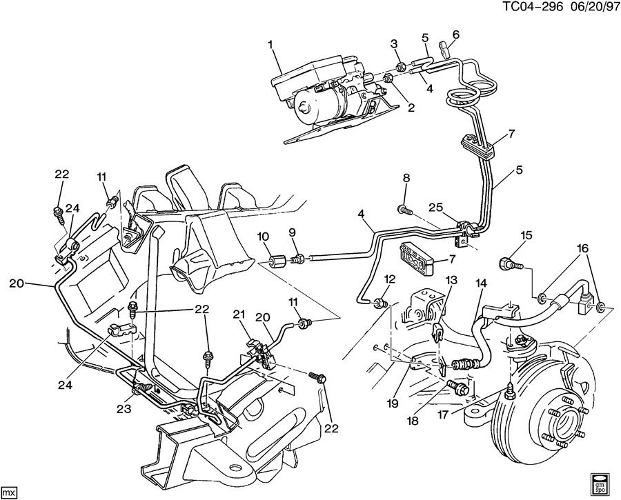 2003 Chevy Avalanche Front Suspension Breakdown