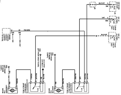 Car Cooling Fan Wiring Diagram - Wiring Diagram