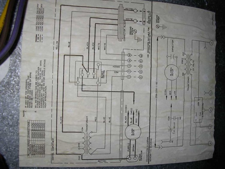 Goodman Electric Air Handler Wiring Diagram - Wiring Diagram
