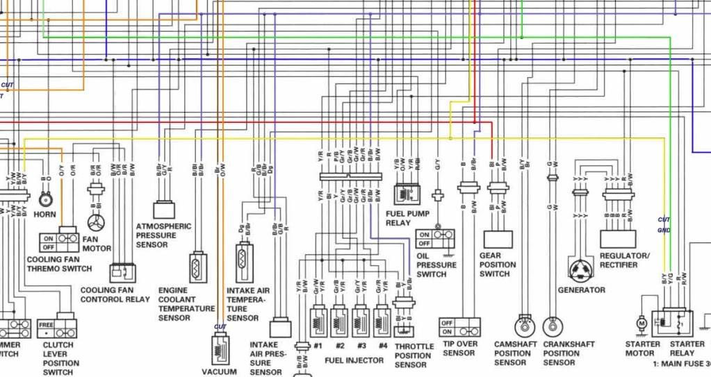 Wiring Diagram For Suzuki Gsxr 600 - wiring diagrams