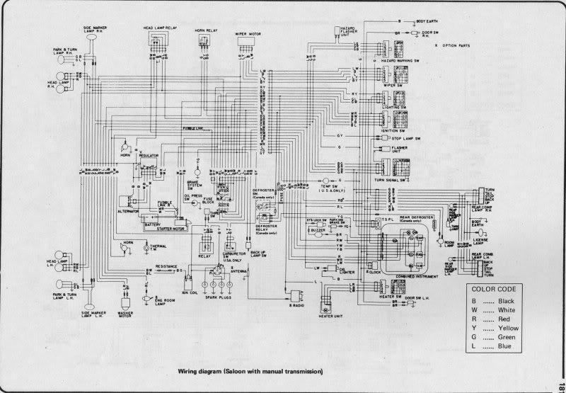 bn22 nissan largo wiring diagram compilation w30 type 1993 on Nissan Repair Guide nissan largo wiring diagram