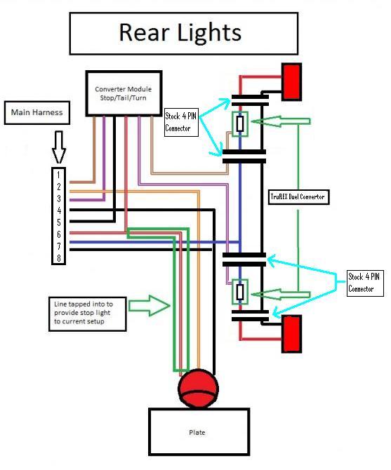 Trailer Light Taillight Converter Installation - Data SET •