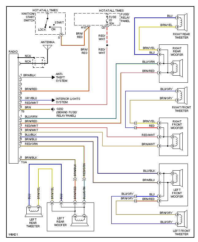 chevy tahoe radio wiring diagram the wiring 2005 chevy silverado 1500 radio wiring harness wirdig