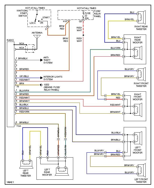 1998 vw beetle radio wiring diagram efcaviation com 2000 vw jetta audio wiring diagram at 99 Vw Jetta Radio Wiring Diagram