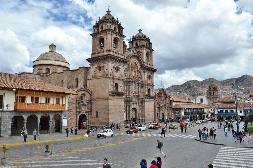Компанья де Хесус Compania de Jesus Cuzco