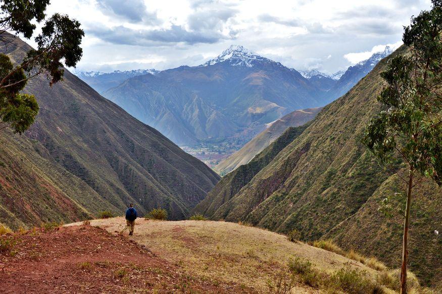 Дорога Инков в Священной долине в Перу