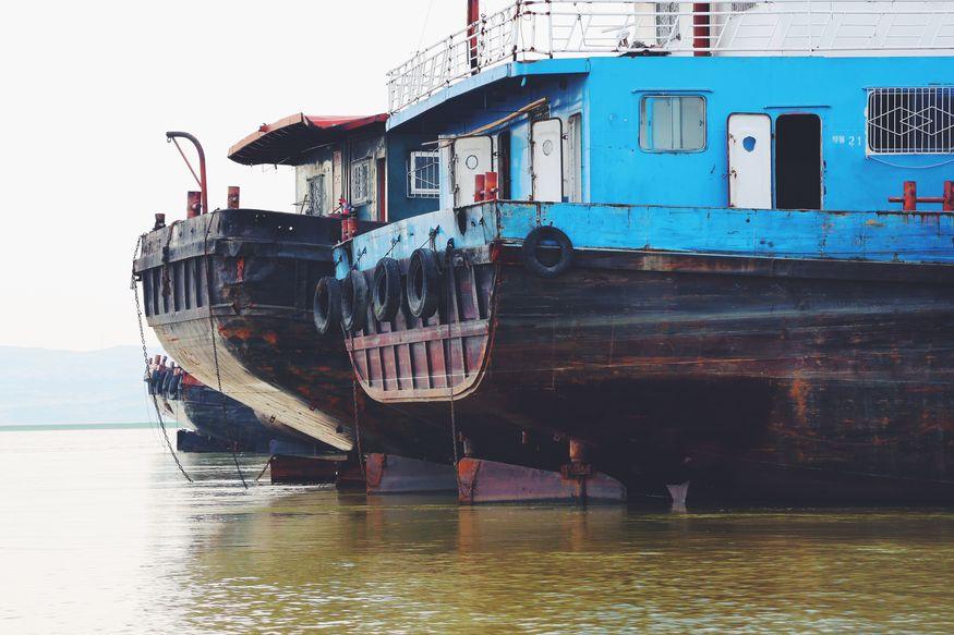 Грузовые корабли в Перуанской Амазонке