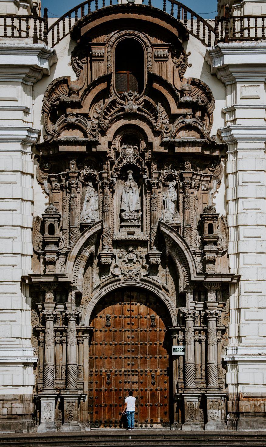 Фасад церкви Лимы