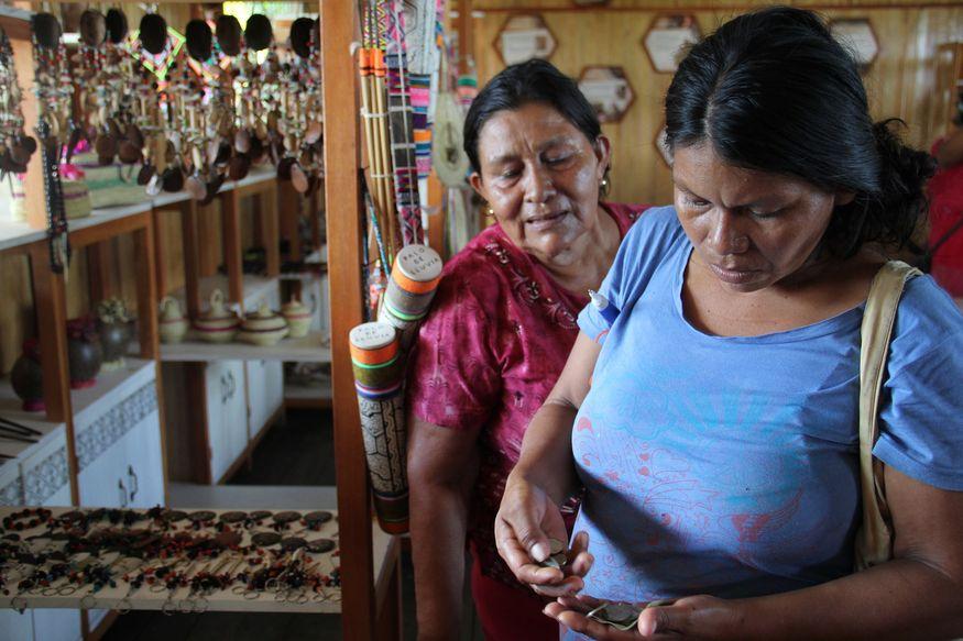 Сувениры Икитос рынок Белен