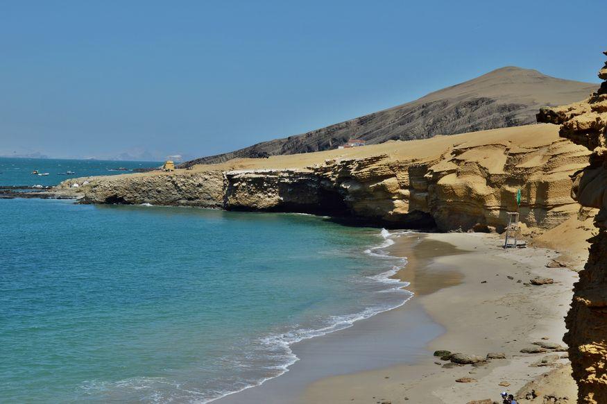 Пляж Распон на полуострове Паракас