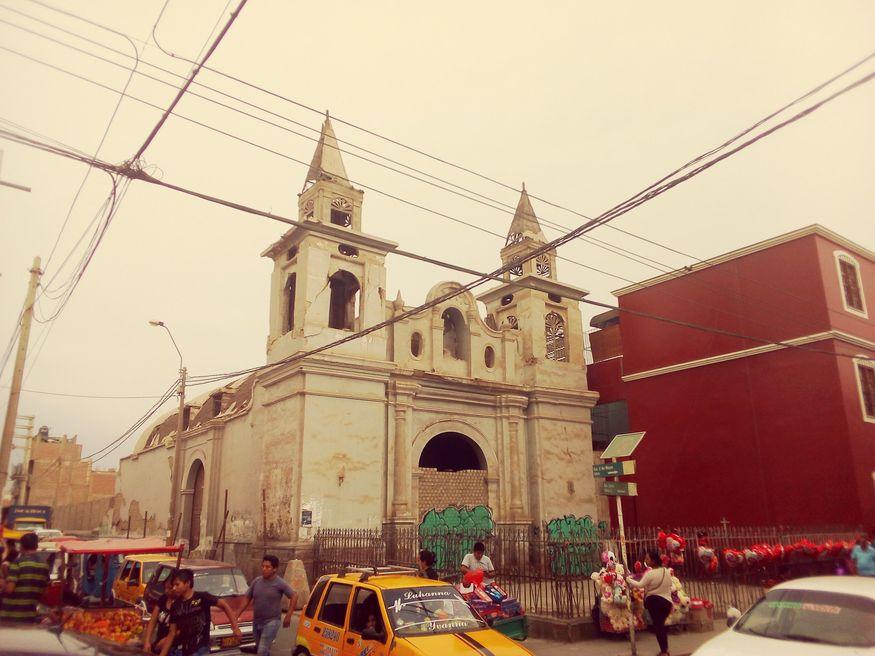 Центр города Ика Перу