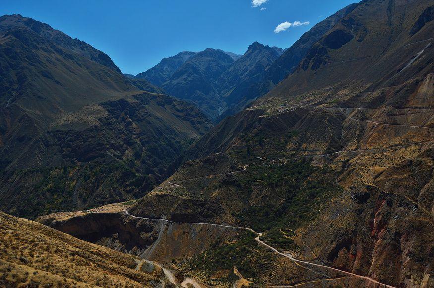 Пешеходные маршруты в каньоне Колка