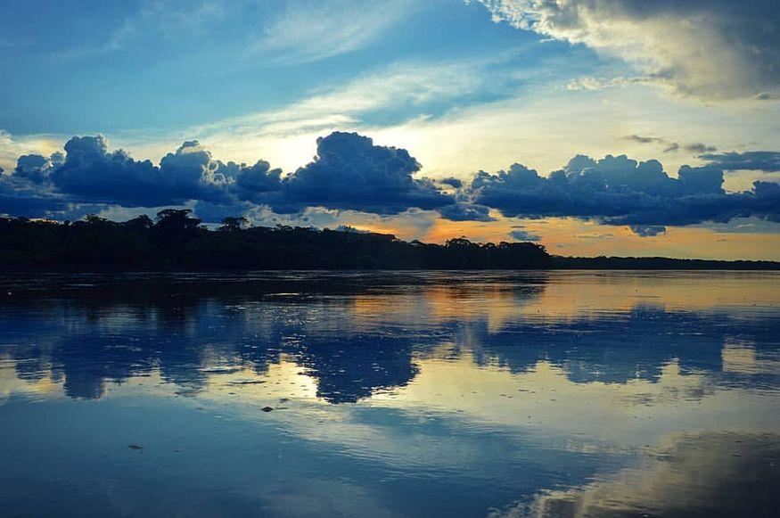 Закат Амазонка
