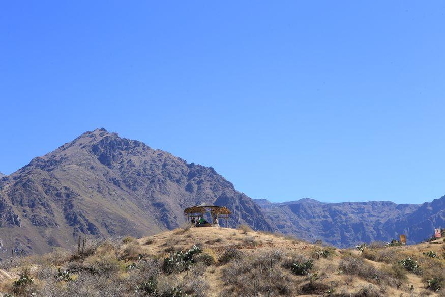 Смотровая площадка на горе у деревни Кабанакоде