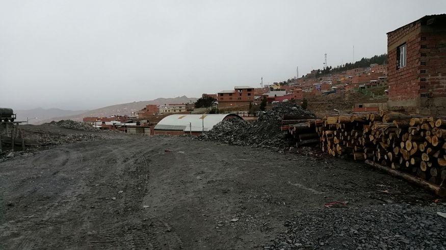 РУдник в Боливии