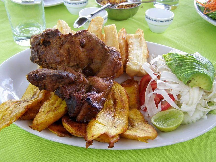 Блюдо махас majas в перу амазония