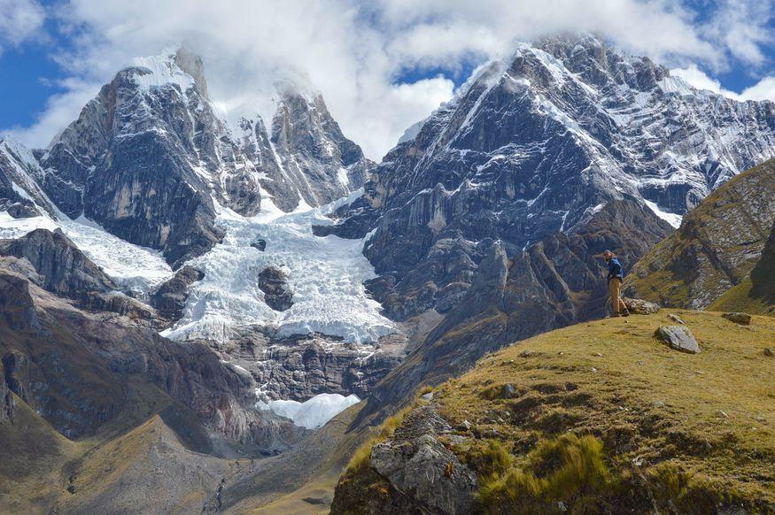 Вершины Ерупаха и Хиришанка, перевал Carhuac