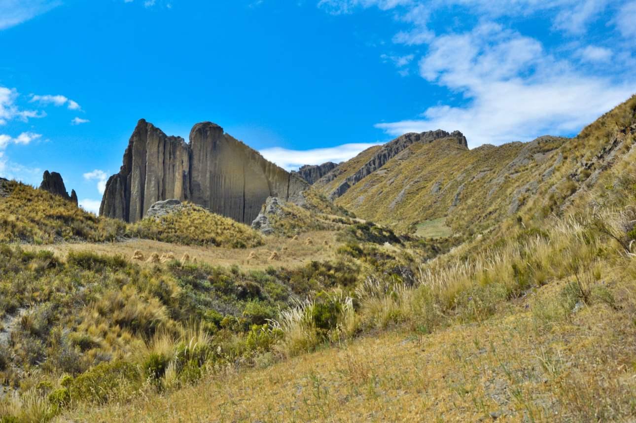 Пейзаж в Андах