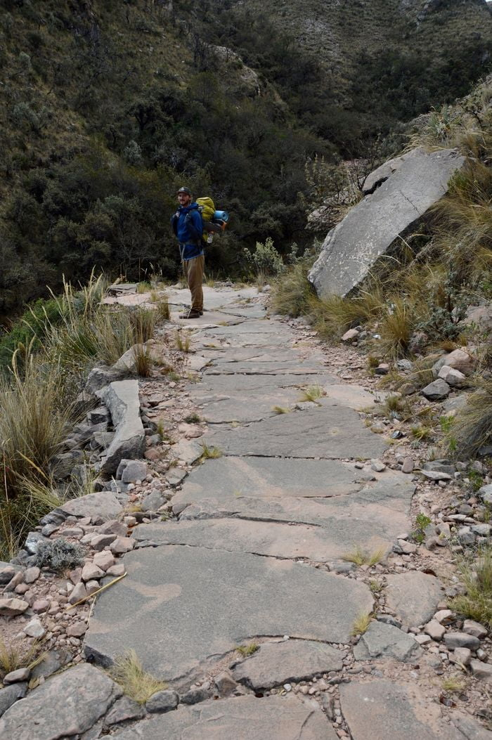 Тропа инков в Боливии