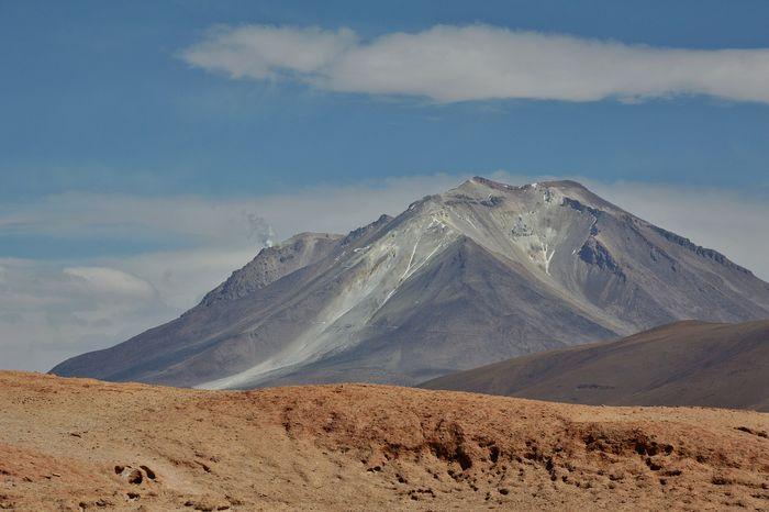 Вулкан в Боливии
