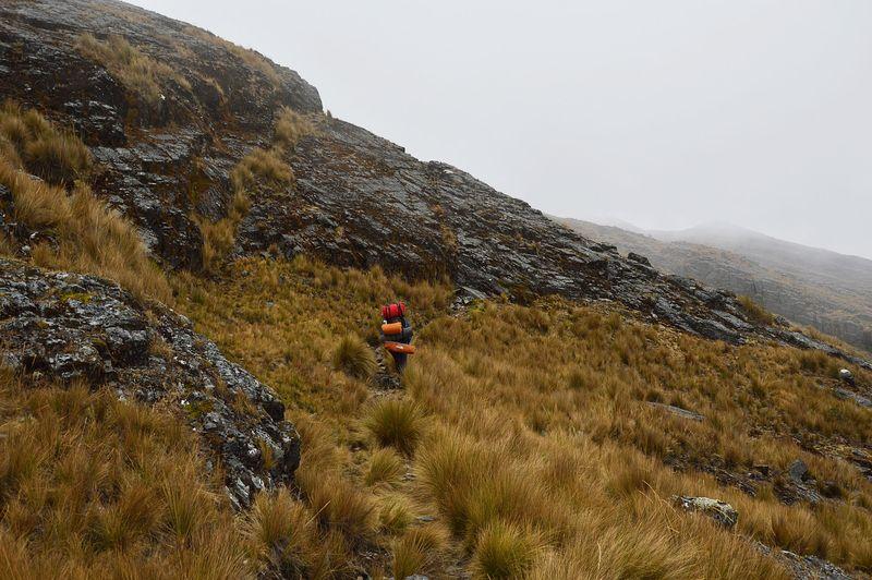 Поход в горах Анд
