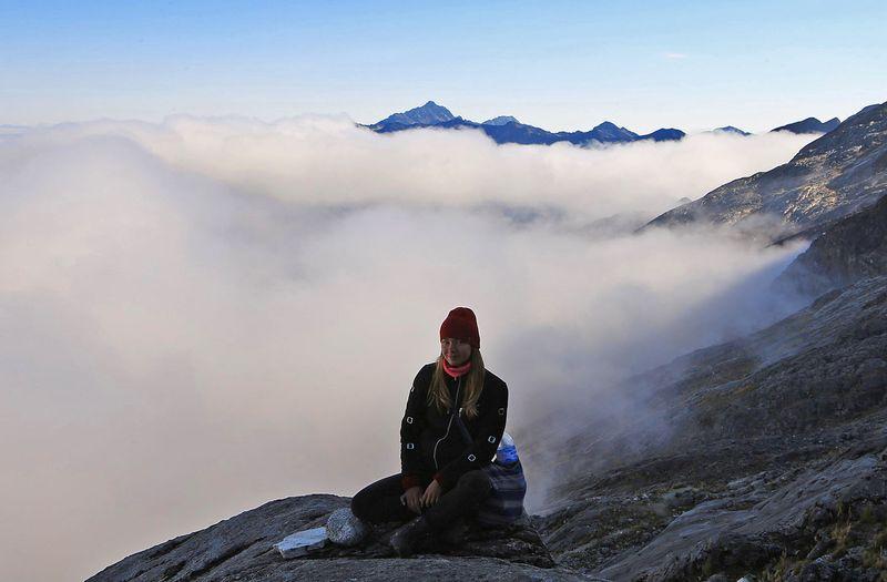 Над облаками в Андах