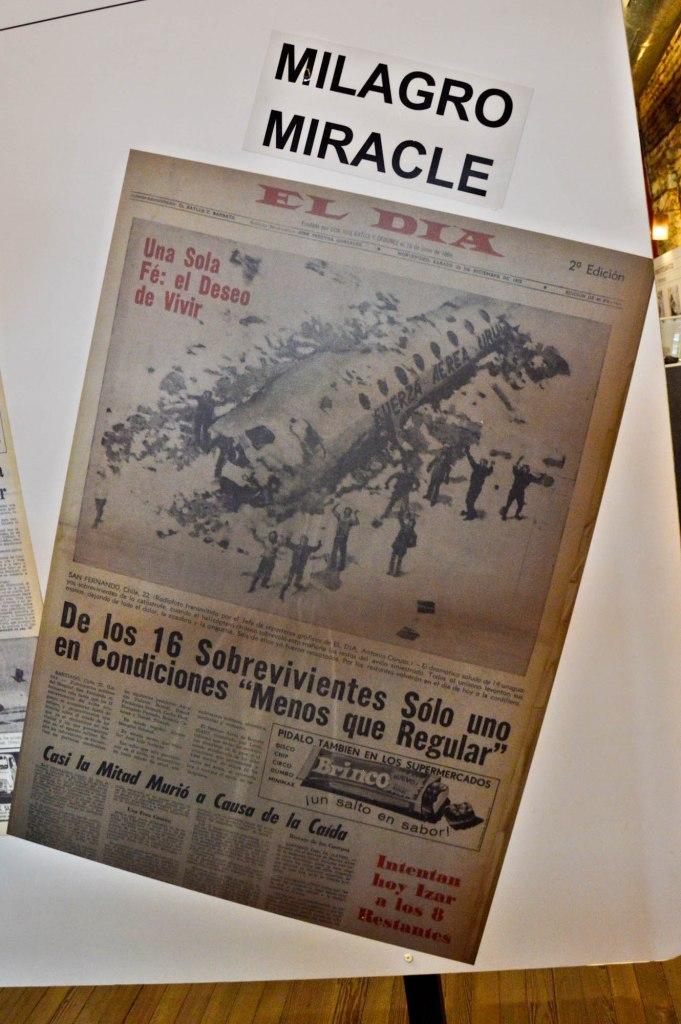 Заголовок газеты Чудо в Андах