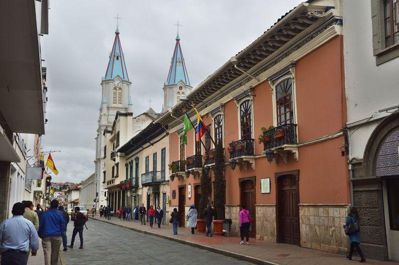Исторический центр Куэнка Эквадор