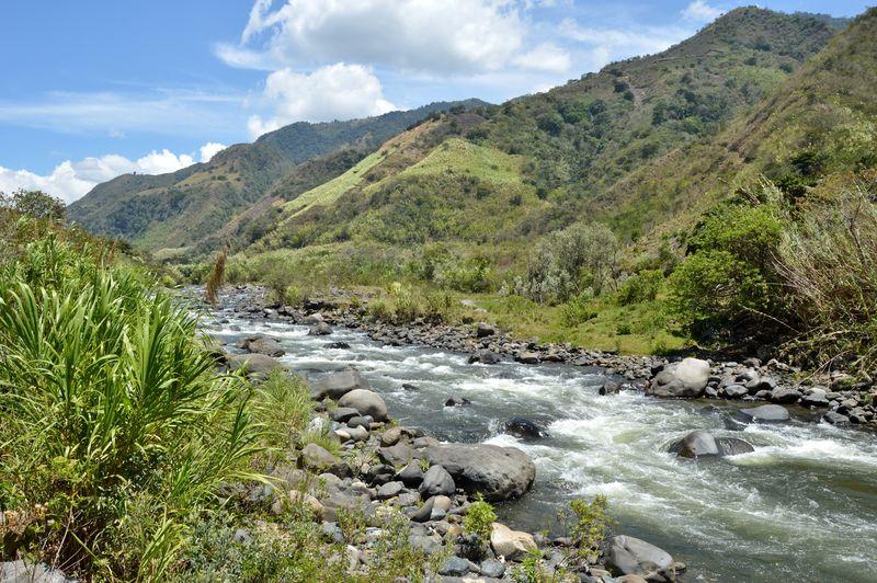 Пейзаж долины Интаг