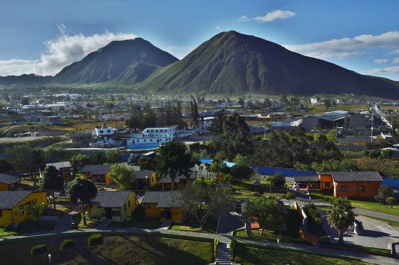 Пейзаж около Кито, Эквадор