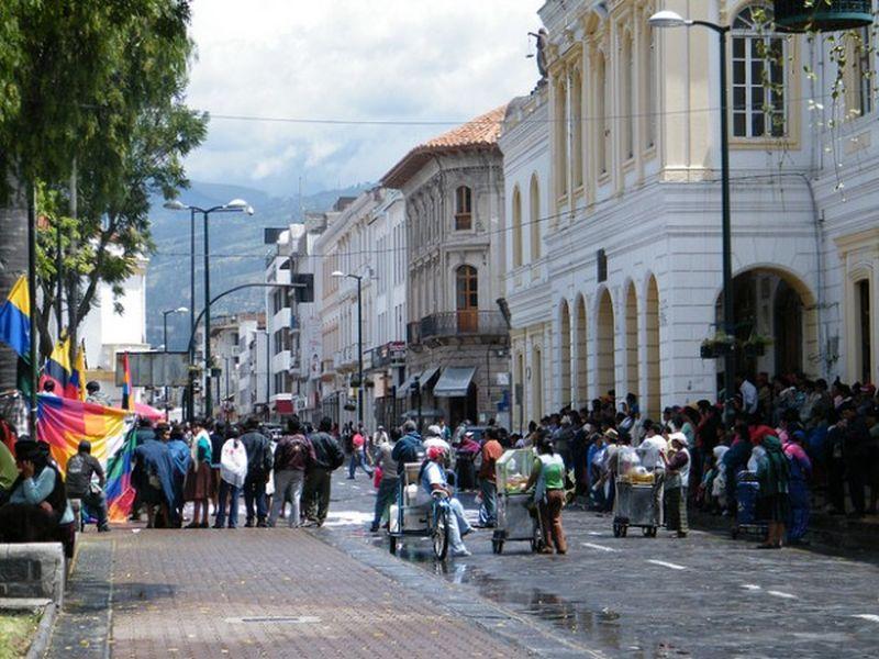 Улица города Ибарра