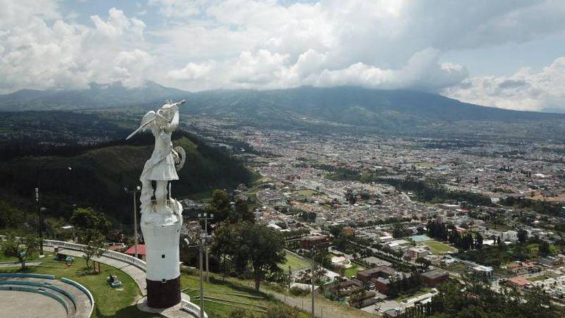Смотровая площадка Сан Мигель Архангел в Ибарре
