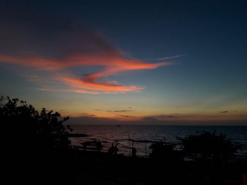 Закат в Сантьяго-де-Толу