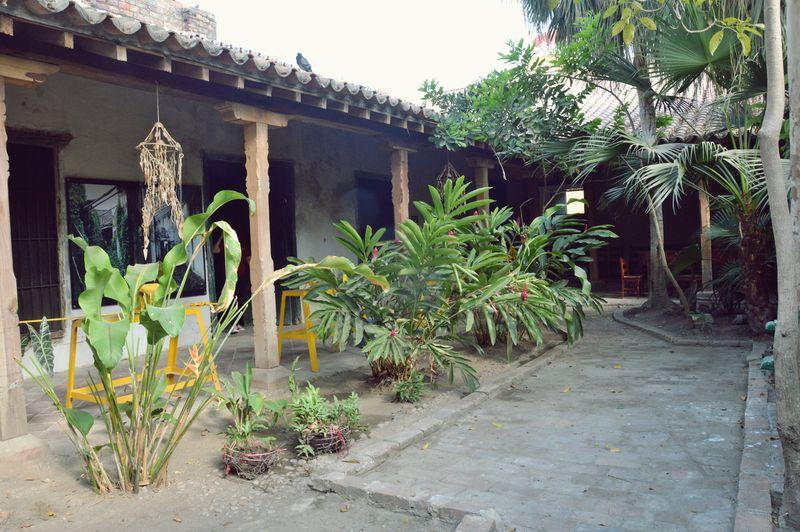 Старинный дворик