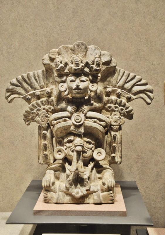 Музей антропологии Мехико - культура Оахаки