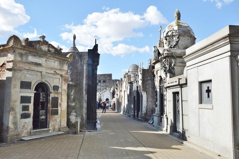 кладбище в Буэнос Айресе